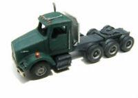 N Scale kw Tri-axle Tractor Truck Kit- Model Railroad Showcase Miniatures (60)