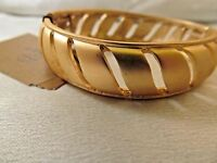Monet Gold Modern Design Bangle Bracelet,ocean Breeze, Unique