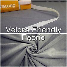 "Grey Velcro ® Friendly Notice Board 60"" Wide Fabric Material (Sold Per Metre)"