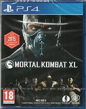 MORTAL KOMBAT XL GAME PS4 (x) ~ NEW / SEALED
