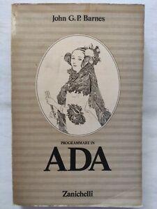 BOOK-PROGRAMMARE-IN-ADA-ZANICHELLI-JOHN-G-P-BARNES-ANNA-BAIOCCHI-1988
