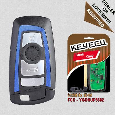 BDC CAS4 CAS4+ Smart Remote Key Fob 4B 315MHz PCF7953 for BMW F Chassis FEM