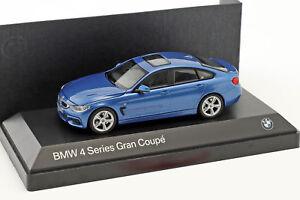BMW 4er 4 Series (F36) Gran Coupe estoril blau 1:43 Kyosho