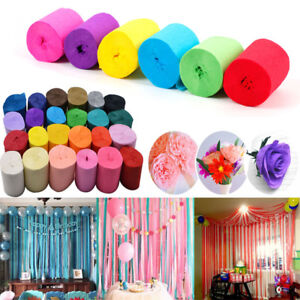 Crepe-Rolls-Streamer-Paper-Party-Wedding-Celebration-Birthday-Decoration-Colours