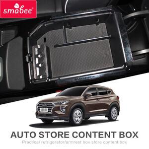 Details about For Hyundai Tucson 2019 Car Central Armrest Box storage box  accessories Store