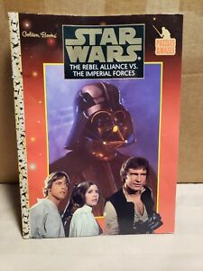 Vintage Star Wars The Rebel Alliance Vs The Imperial Forces New Coloring Book