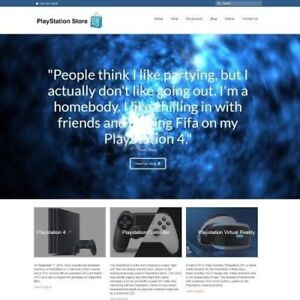 PLAYSTATION-Website-Business-For-Sale-Working-From-Home-Make-Money-Domain