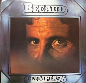 GILBERT-BECAUD-olympia-1976-LP-LIVE-seul-sur-son-etoile-l-039-absent-VG