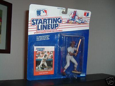 Tony Gwynn  ROOKIE  Starting Lineup Figurine 1988 & 8 x 10 Photo of Tony Gwynn