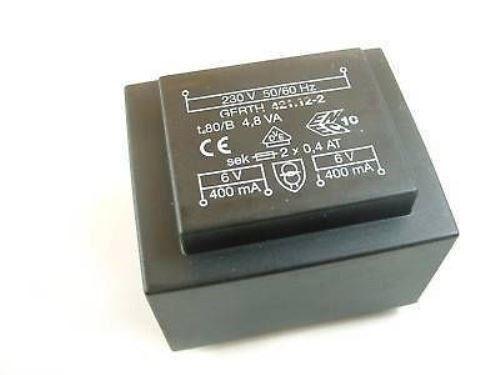 Hahn en miniatura-printtrafo 0,5va 230v 12v 42ma