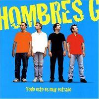 Todo Esto Es Muy Extrano By Hombres G. Cd (2004, Warner Music Latina)