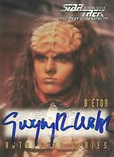 """Star Trek TNG Season 7 - A18 Gwynyth Walsh """"B'Etor"""" Autograph Card"""
