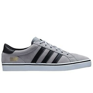 low priced b7778 0370f Adidas-AMERICANA-VIN-LOW-Mid-Grey-Black-Running-