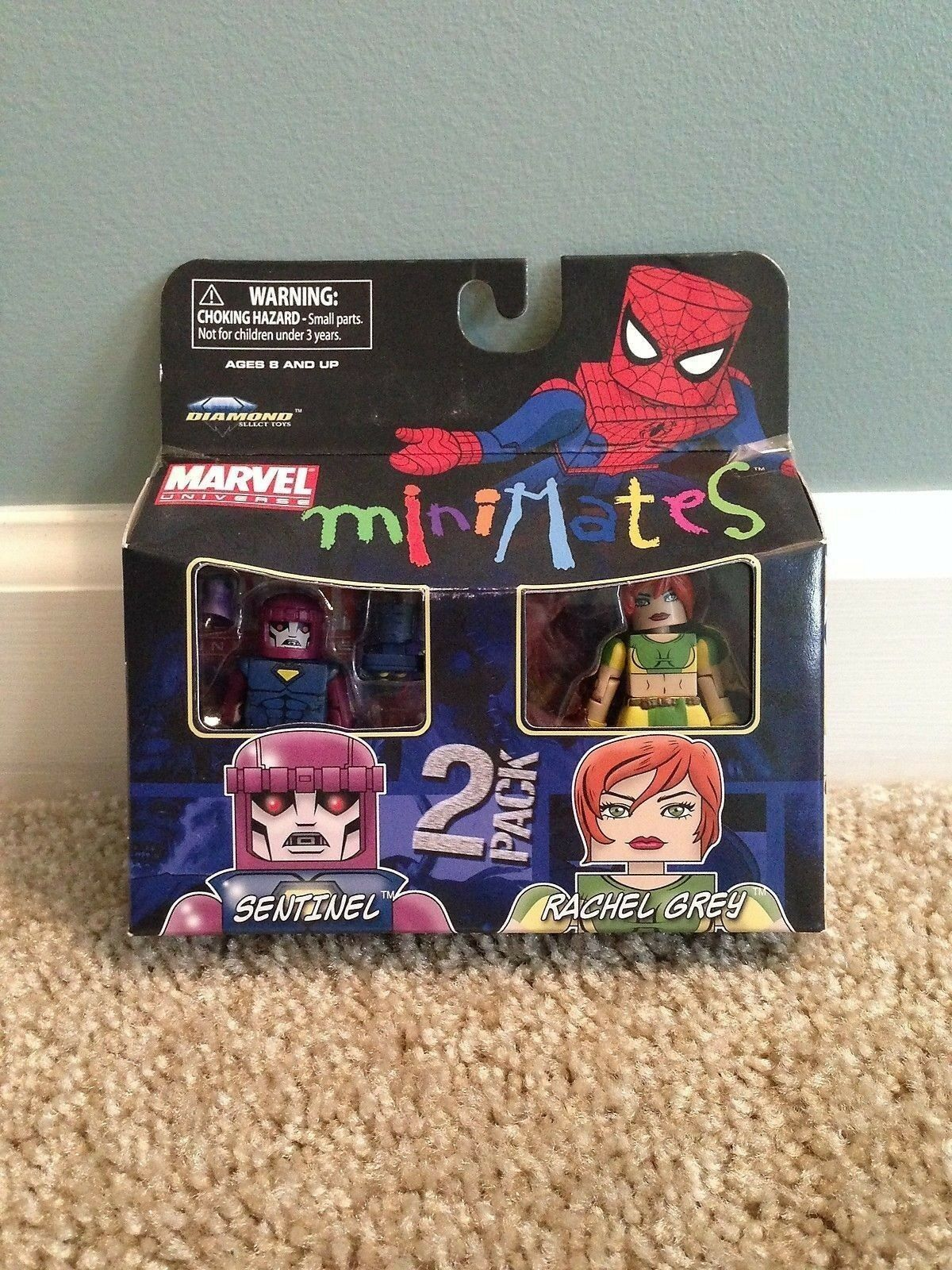 Marvel Minimates Series 21 Jim Rhodes Mark I I I Iron Man Movie CHEAP Intl Ship 26d4d0