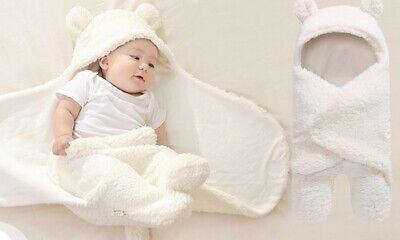NEU Baby Jungen Kapuzen  Einschlagdecke Kuschel Decke  Englandmode