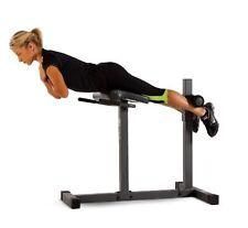 Lower Back Exercise Machine Stretch Bench Strength Training Equipment Roman