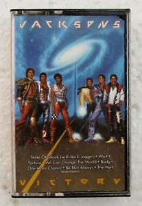 Victory-by-Jacksons-The-Jacksons-5-Michael-Jackson-Rare-1984-USA-Cassette-Tape