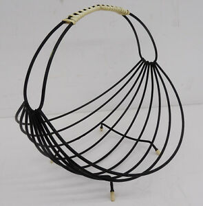 Rockabilly-kultiges-string-design-formschoener-Obstkorb-mid-century-design-60s