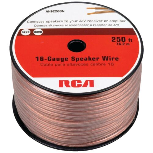 RCA Rca 16-gauge Speaker Wire 250ft