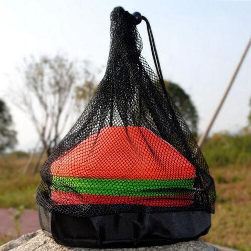 Soccer Cones Storage Drawstring Bag Carrier Football Sports Training Gear