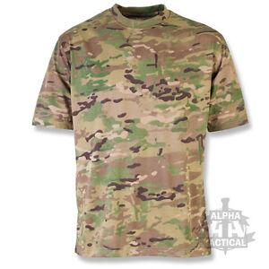 Militaire t-shirt homme S-2XL 100/% coton dpm camo olive greenn armée britannique