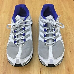 quality design b3659 470f0 Image is loading Nike-Shox-Navina-Athletic-Running-Shoes-Blue-Silver-