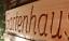 Gartenhaus-massives-Holzschild-Douglasie-58cm-breit-mit-eingefraester-Gravur Indexbild 2