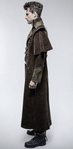 Pirata Gothic Collare Cape Steampunk Outlet in Punkrave Coat Dandy pelle UFwg5Xq