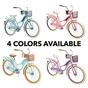 """Huffy 24"""" Nel Lusso Cruiser Bike - 🚨 4 Colors Available - FAST SHIPPIN - NEW 🚨"""