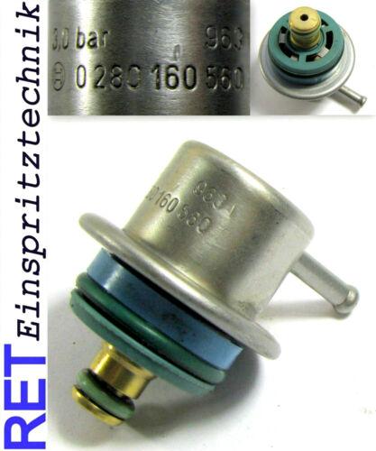 Essence Régulateur de pression Bosch 0280160560 fiat lancia citroen 3 Bar Original