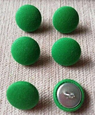 Inteligente Hierba Verde 30l/19mm Botones Cubierto De Tela Artesanía Coser Tapicería Compra Uno Da Uno