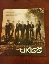 Ukiss break time 4th mini album cd Kpop K-pop orig ver kevin eli dongho