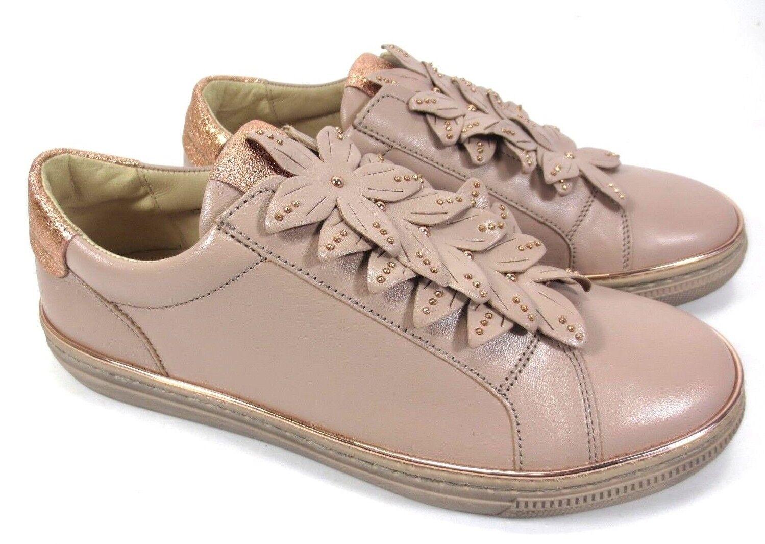 negozi al dettaglio Gabor scarpe da ginnastica Slipper Scarpe in Pelle Pelle Pelle rosa oro oro rosa Metallizzato Nuovo UVP 119,95  ordina adesso