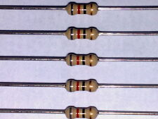 82R 1/4W 5% CARBON FILM RESISTORS * PACK 500 pieces on ammo style bandoliers *
