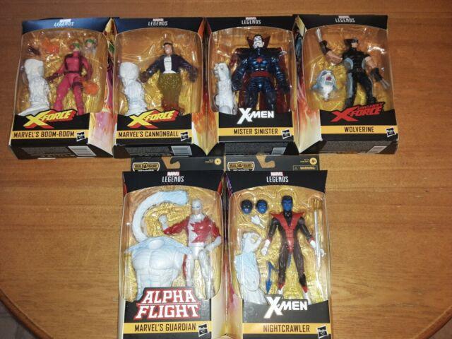 Marvel Legends WENDIGO wave set X-MEN X-FORCE nightcrawler sinister wolverine