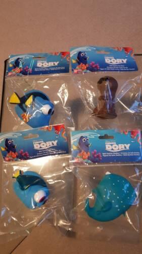 Dory Lil Dory Finding Dory Set de 4 Bath Squirter Toys Incl Destiny Sea Otter