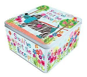 Image Is Loading Peel Amp Sardine Receipt Tin Friends Gift Idea