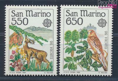 Vögel 8641304 Rohstoffe Sind Ohne EinschräNkung VerfüGbar Briefmarken San Marino 1339-1340 Postfrisch 1986 Naturschutz