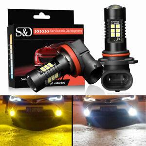 Car H11 LED H7 HB4 9006 HB3 9005 H8 H27 P13W 21SMD Fog Driving DRL Light Bulbs
