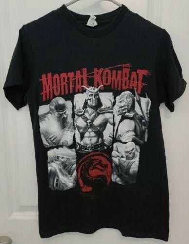 Mortal Kombat Shirt Scorpion Sub-Zero Goro Raiden