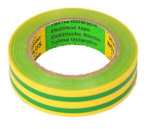 Isolierband Isoband Elektriker Klebeband 10m x 15 mm grün