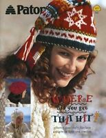 Patons Where Did You Get That Hat 20 Designs- Rare Out Of Print Book