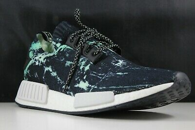 premium selection b9be4 1d799 Adidas NMD R1 PK Size 10 Mens Marble Aero Green BB7996 | eBay