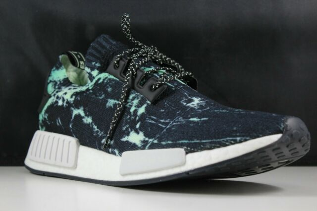 46f5d4f08 adidas NMD R1 PK Size 10.5 Mens Marble Aero Green Bb7996 for sale ...