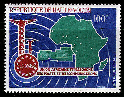 Burkina Faso-obervolta 227 ** Post Fernmelde-union