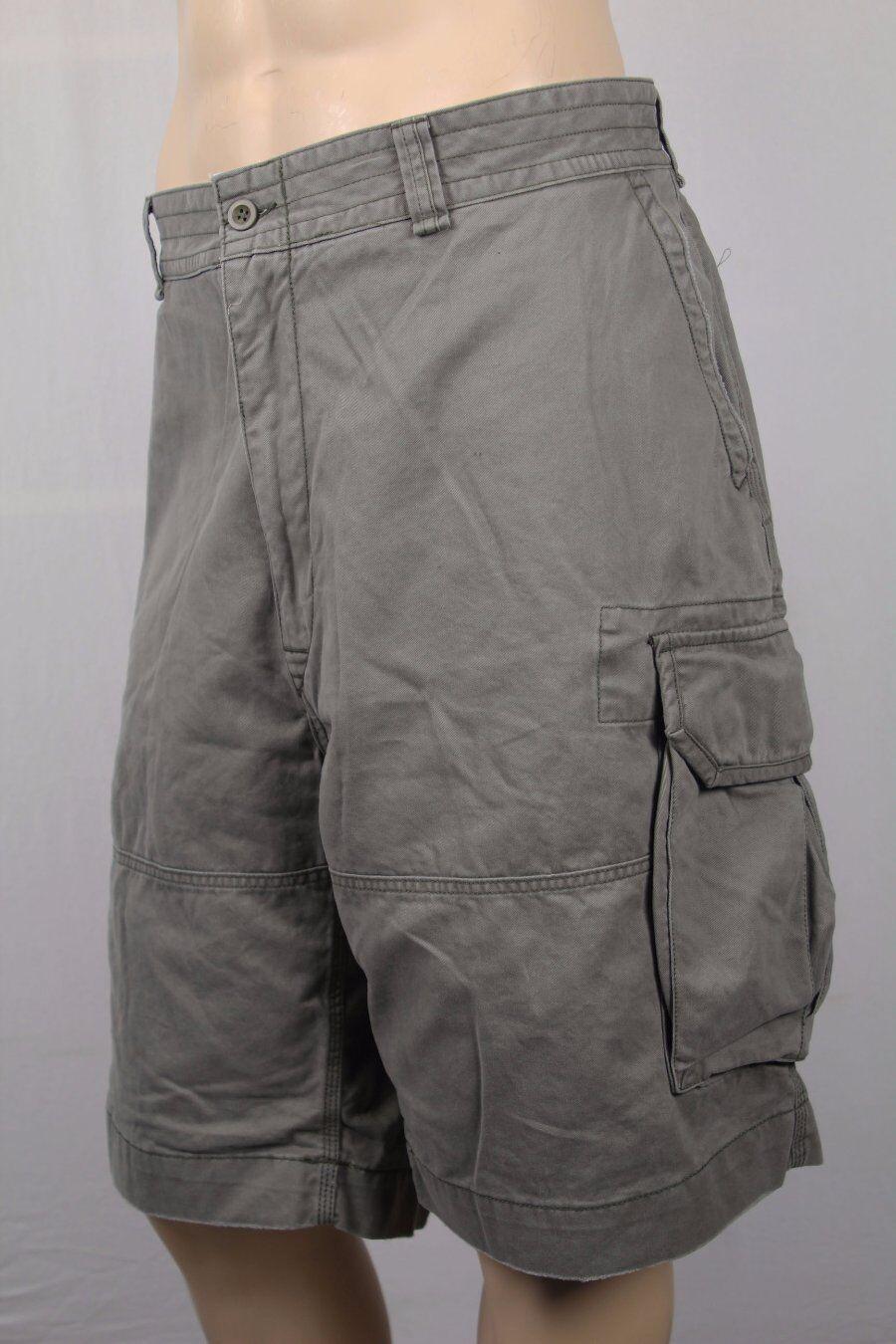 Polo Ralph Lauren Mountain Green Grey Fatigue Cargo Shorts NWT