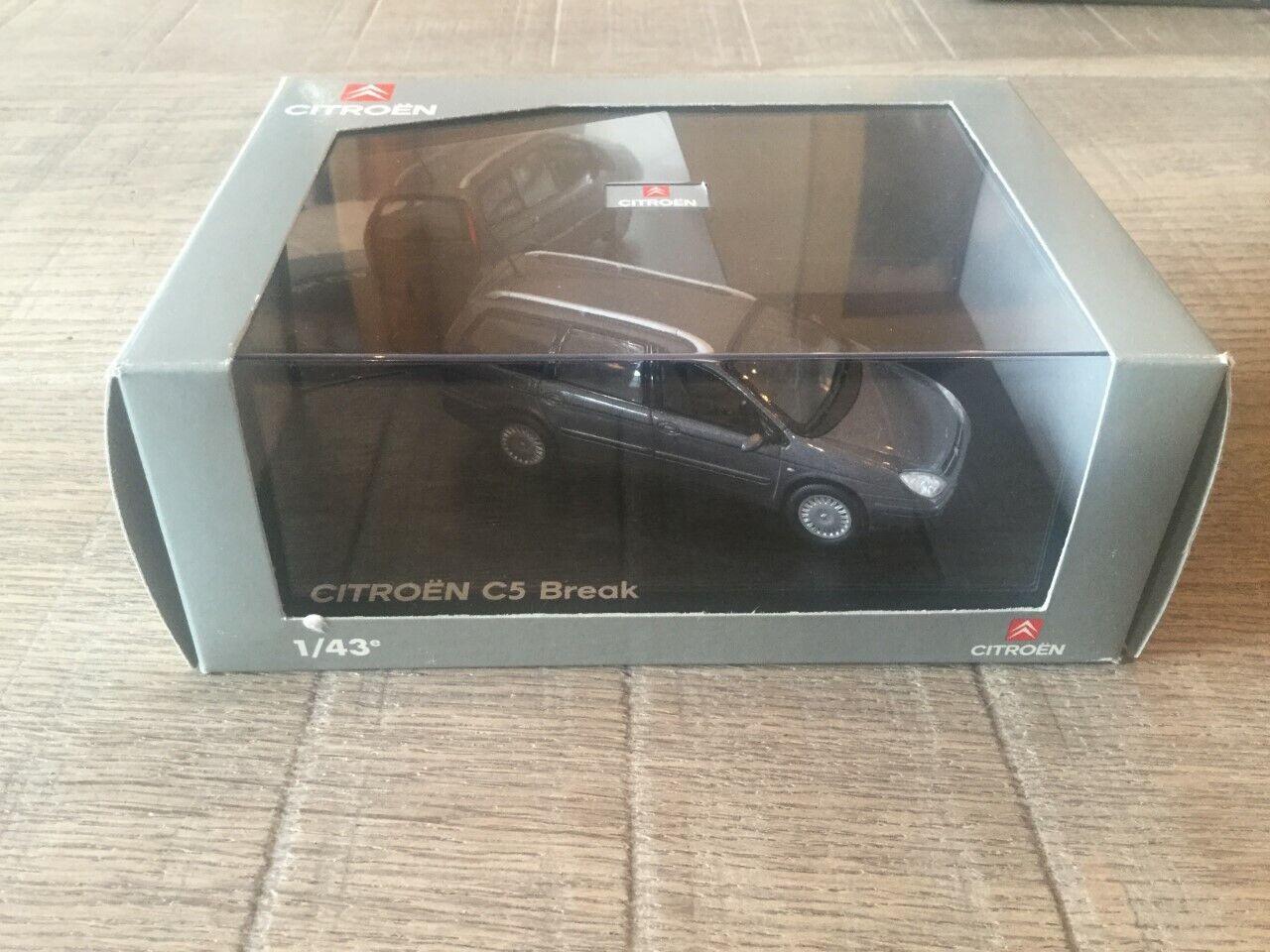 Norev 1 43 Citroën C5 Break grey grey grey dealer edition n°AMC 009 195 8220de