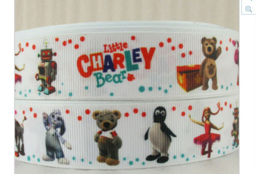 Little Charley Bear Ribbon for cake decorating or scrap booking 1m long