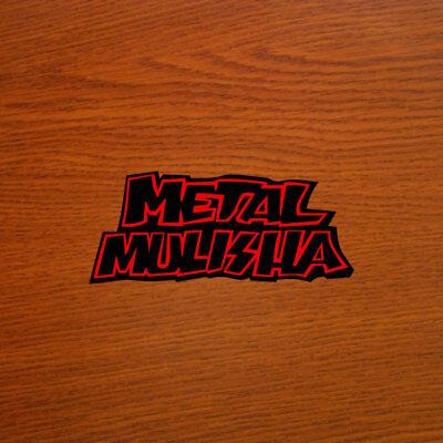 "Metal Mulisha 6/"" x 2.5/"" inch Vinyl Decal Window Sticker"