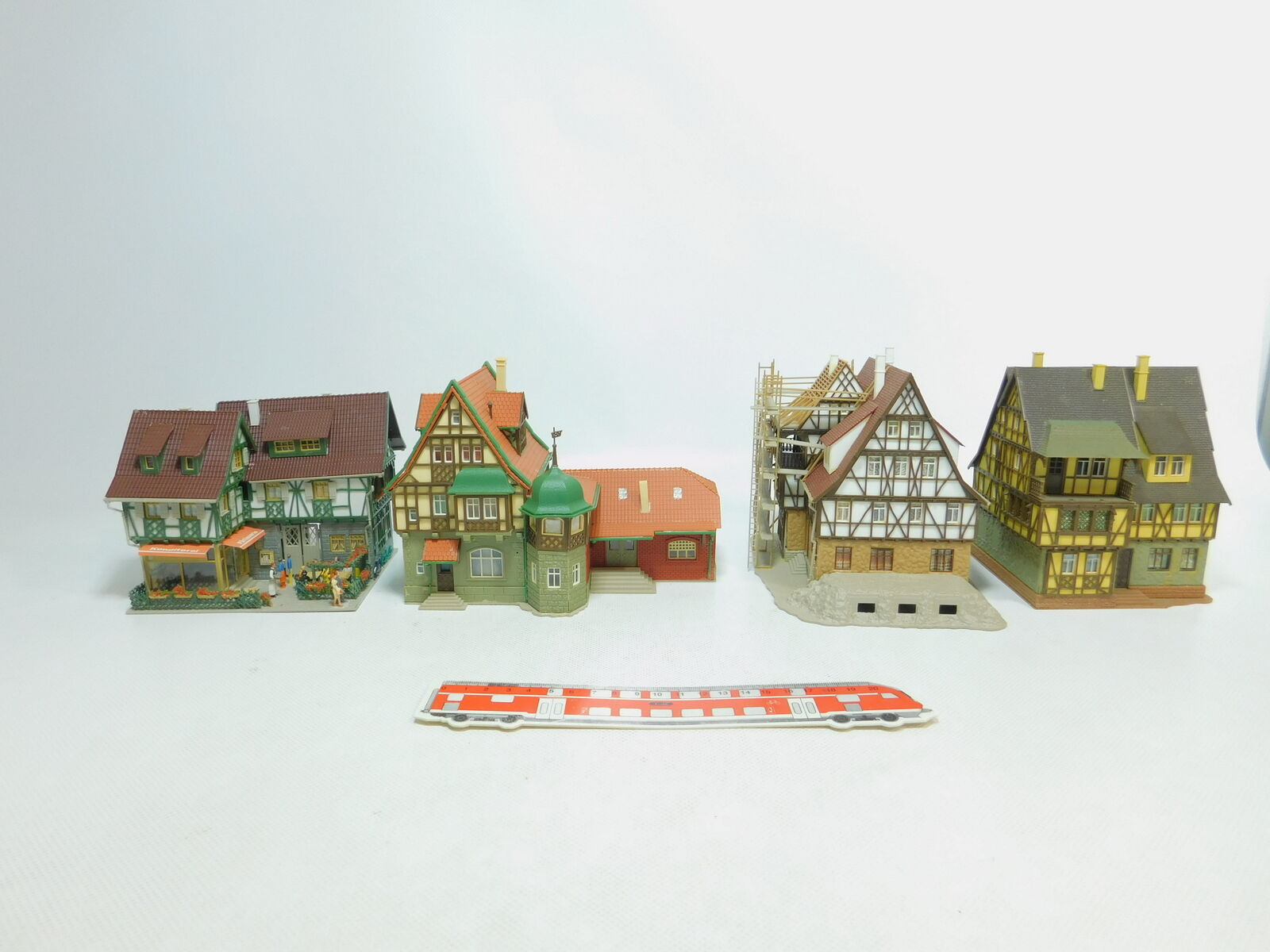 Bm410-3x Vollmer h0 half-timbered house Old House  26866 + 54783 + 29396 + 20817